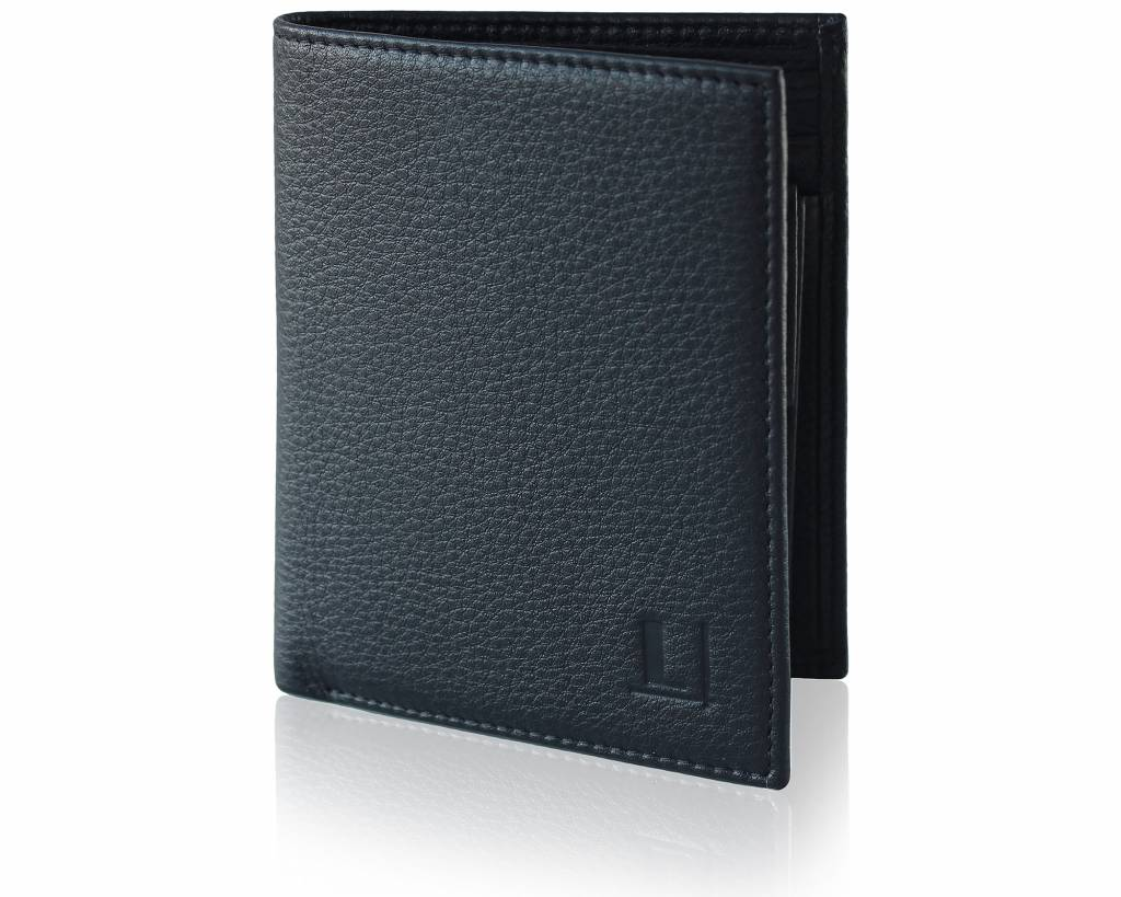 Bi-Fold Wallet LW-6 Black