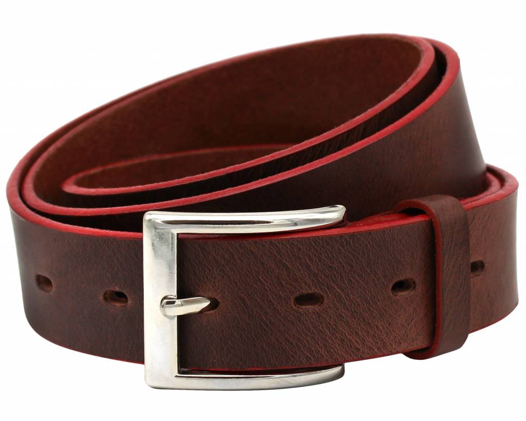 B-35-00 Brown/Red