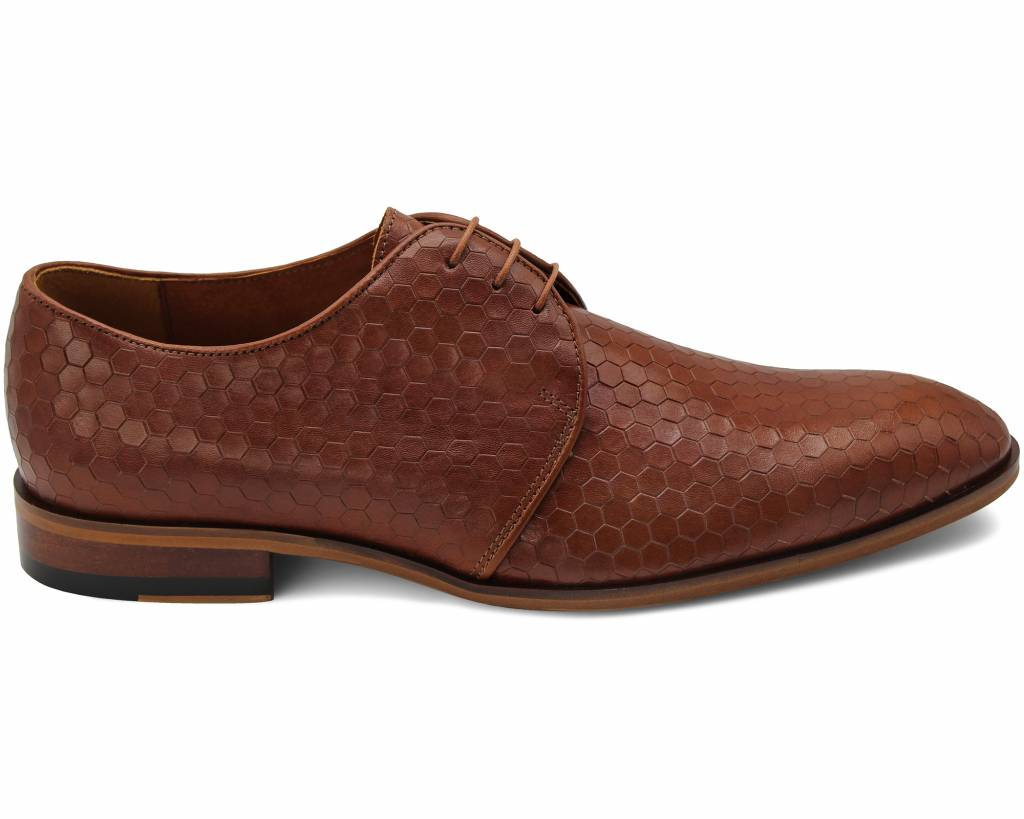 Hexagon Derby Shoes