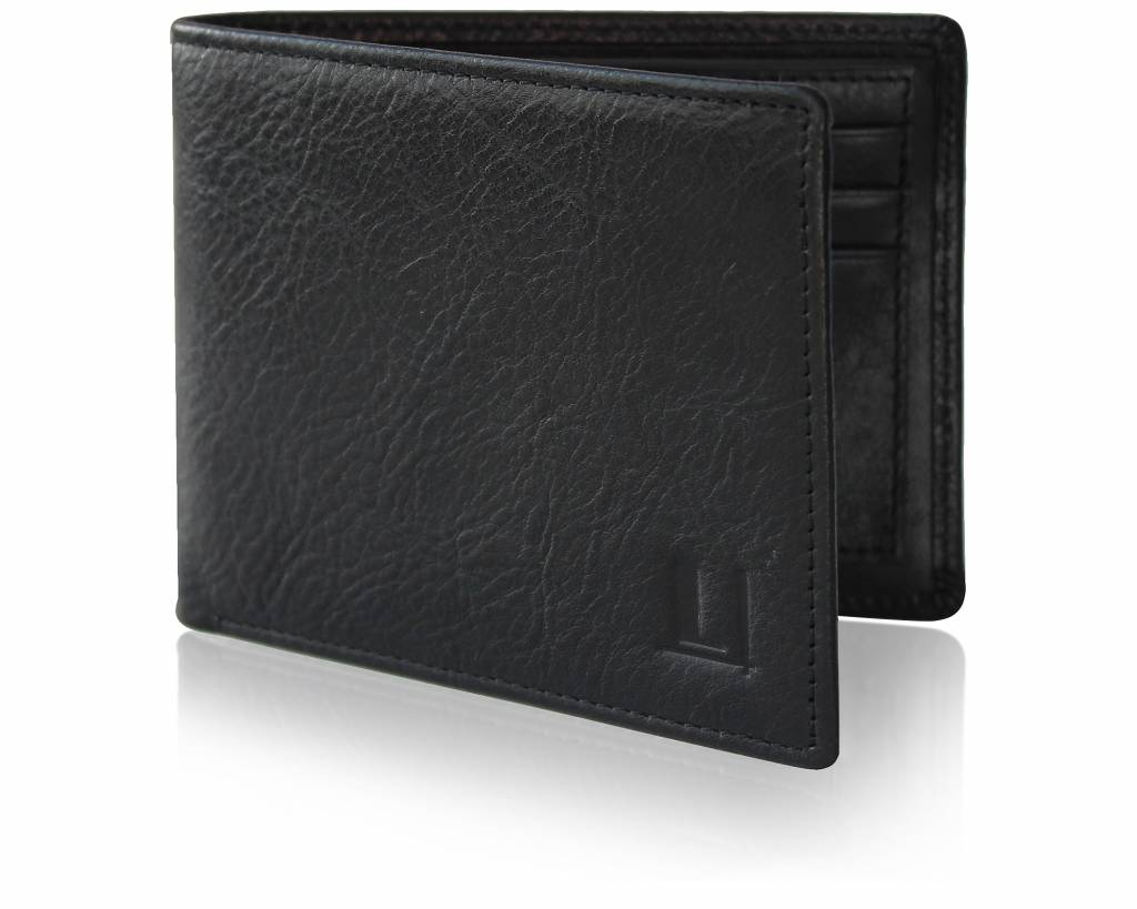 Bi-Fold Wallet LW-4 Black