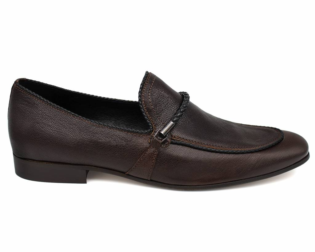 Plaited Strap Loafers
