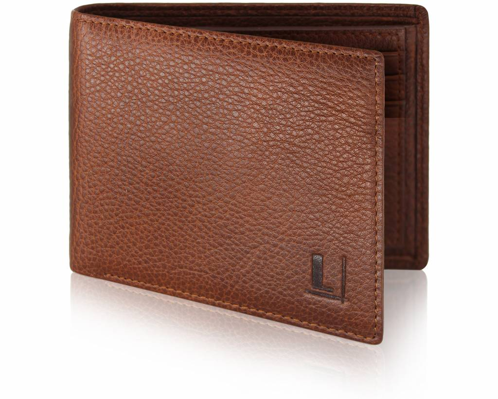 Bi-Fold Wallet LW-4 Tan
