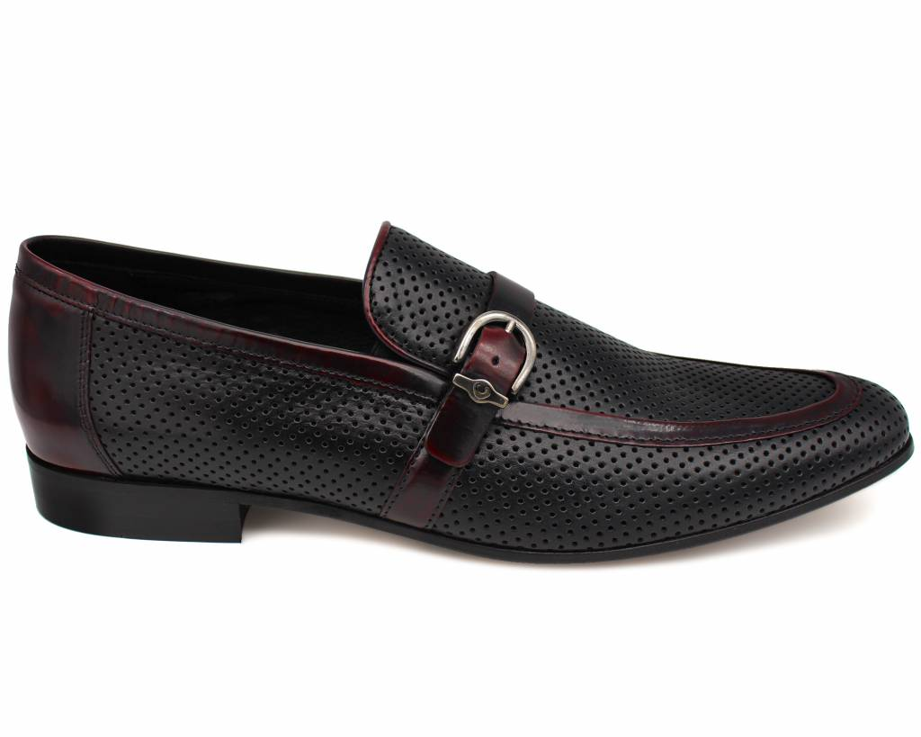 Buckle Detail Slip-Ons